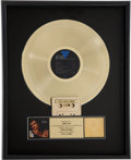 Music Memorabilia:Awards, Rolling Stones Related - Keith Richards Talk Is Cheap RIAAGold Album Award, Presented to Bobby Keys....