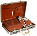 Movie/TV Memorabilia:Props, Attache Case With Built-In Telephone Prop from UnknownProduction....