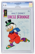 Bronze Age (1970-1979):Cartoon Character, Uncle Scrooge #111 (Gold Key, 1974) CGC NM 9.4 White pages....