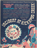 Music Memorabilia:Posters, Incident at Kickapoo Creek Music Festival Poster (1970)....