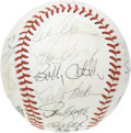 Autographs:Baseballs, 1980 Los Angeles Dodgers Team Signed Baseball. No shortage of starpower upon this ONL (White) ball, with Lasorda, Sutton, ...