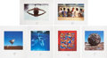Music Memorabilia:Original Art, Storm Thorgerson Bodies Series Album Cover Fine Art PrintSet.... (Total: 6 Items)