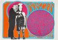 Music Memorabilia:Posters, Jefferson Airplane/Grateful Dead Busted Fillmore AuditoriumConcert Poster (S. F. Mime Troupe, 1967)....