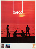 Music Memorabilia:Posters, Bread On the Waters Promo Poster (Elektra, 1970)....