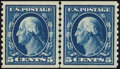 Stamps, 5c Blue, Horizontal Coil (447),...
