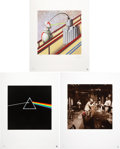 Music Memorabilia:Original Art, Storm Thorgerson/Hipgnosis Classic Covers Fine Art Print Set....(Total: 3 Items)