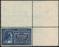 Stamps, 1895, 10c Blue, Dots in Frame variety (E5a),...
