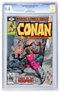 Bronze Age (1970-1979):Superhero, Conan the Barbarian #103 (Marvel, 1979) CGC NM/MT 9.8 White pages....