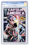 Modern Age (1980-Present):Superhero, Captain America Annual #8 (Marvel, 1986) CGC NM/MT 9.8 Off-white towhite pages....