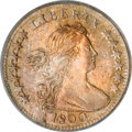 Early Half Dimes, 1800 H10C LIBEKTY MS64 PCGS. CAC....