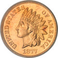 Proof Indian Cents, 1877 1C PR66 Red PCGS....