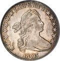 Early Half Dollars, 1805 50C XF45 PCGS....