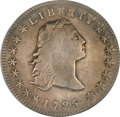 Early Dollars, 1795 $1 Flowing Hair, Three Leaves PCGS Genuine....