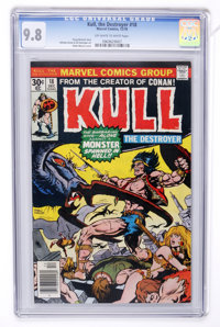 Kull the Destroyer #18 (Marvel, 1976) CGC NM/MT 9.8 Off-white to white pages
