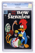 Silver Age (1956-1969):Cartoon Character, New Funnies #254 File Copy (Dell, 1958) CGC NM+ 9.6 Off-white pages....