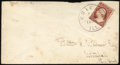 Stamps, 3c Dull Red, Unofficial Perforation 12½ (11 var.),...