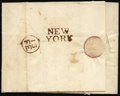 Stamps, 1767 Folded Letter from London, England...