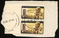 Stamps, 4c Black, Brown & Yellow, Yellow Inverted (1203a),...