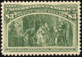 Stamps, $3 Yellow Green (243),...