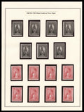 Stamps, 1879, 2c-$60 Plate Proofs on India (PR57P3-PR79P3),... (Total: 1 Misc)