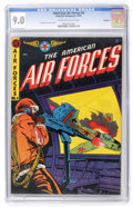Golden Age (1938-1955):War, The American Air Forces #8 Big Apple pedigree (Wm. H. Wise &Co., 1952) CGC VF/NM 9.0 Cream to off-white pages....