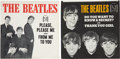 "Music Memorabilia:Recordings, Beatles ""Please Please Me""/""From Me to You"" and ""Do You Want to Know A Secret""/ ""Thank You Girl"" 45 Group of 2 (Vee-Jay 581 an... (Total: 2 Items)"