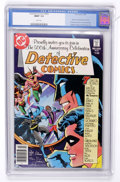 Modern Age (1980-Present):Superhero, Detective Comics #500 (DC, 1981) CGC MT 9.9 White pages....