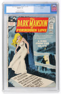 Bronze Age (1970-1979):Horror, Dark Mansion of Forbidden Love #4 Oakland pedigree (DC, 1972) CGCNM/MT 9.8 Off-white to white pages....