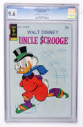 Bronze Age (1970-1979):Cartoon Character, Uncle Scrooge #111 (Gold Key, 1974) CGC NM+ 9.6 Off-white to white pages....