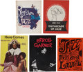 Music Memorabilia:Memorabilia, Vintage Jazz Set Of Five Program Books.... (Total: 5 )