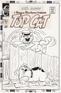 Original Comic Art:Covers, Ray Dirgo Top Cat #19 Cover Original Art (Charlton,1973)....