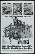 "Movie Posters:War, The Dirty Dozen (MGM, 1967). Military One Sheet (27"" X 41""). War....."