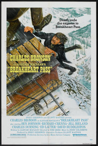 "Breakheart Pass (MGM, 1975). One Sheet (27"" X 41"") Style B. Western"