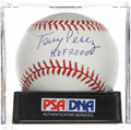 Autographs:Baseballs, Tony Perez Single Signed Baseball PSA Mint+ 9.5. ...