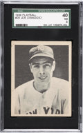Baseball Cards:Singles (1930-1939), 1939 Play Ball Joe DiMaggio #26 SGC 40 VG 3....