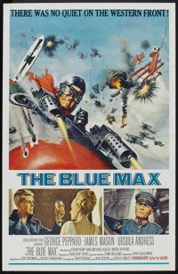 "The Blue Max (20th Century Fox, 1966). One Sheet (27"" X 41""). War"