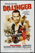"""Movie Posters:Crime, Dillinger (American International, 1973). One Sheet (27"""" X 41""""). Crime.. ..."""