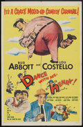 """Movie Posters:Comedy, Dance with Me, Henry! (United Artists, 1956). One Sheet (27"""" X 41""""). Comedy.. ..."""