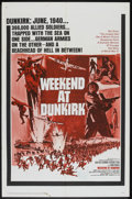 "Movie Posters:War, Weekend at Dunkirk (20th Century Fox, 1966). One Sheet (27"" X 41"").War.. ..."