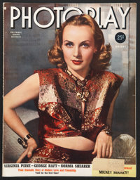 """Photoplay (January,1940). Magazine (84 Pages, 10.75"""" X 14""""). Miscellaneous"""