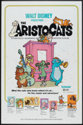 """Movie Posters:Animated, The Aristocats (Buena Vista, 1970). One Sheet (27"""" X 41"""").Animated.. ..."""