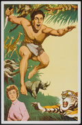 "Movie Posters:Adventure, Tarzan Stock Poster (MGM, 1960s). One Sheet (27"" X 41"").Adventure.. ..."