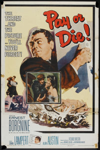 """Pay or Die (Allied Artists, 1960). One Sheet (27"""" X 41""""). Crime"""