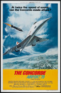 "Movie Posters:Action, The Concorde: Airport '79 (Universal, 1979). One Sheet (27"" X 41"") Style B. Action.. ..."