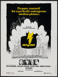 "Network (United Artists, 1976). Poster (30"" X 40""). Drama"