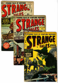 Golden Age (1938-1955):Science Fiction, Strange Tales Group (Atlas, 1954).... (Total: 11 Comic Books)