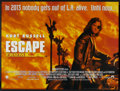 "Movie Posters:Action, Escape from L.A. (Paramount, 1996). British Quad (30"" X 40"") DS. Action.. ..."