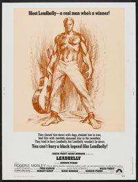 "Leadbelly (Paramount, 1976). Poster (30"" X 40""). Black Films"