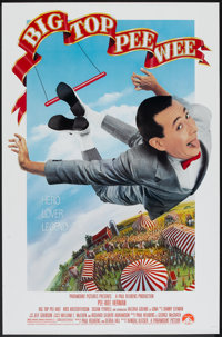 """Big Top Pee-Wee (Paramount, 1988). One Sheet (27"""" X 41""""). Comedy"""