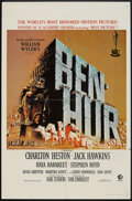 "Movie Posters:Historical Drama, Ben-Hur (MGM, 1959). One Sheet (27"" X 41"") Academy Award Style.Historical Drama.. ..."